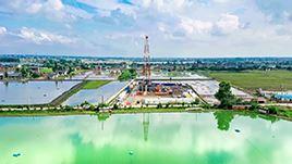 开展绿色钻井行动 保护长江水系资源